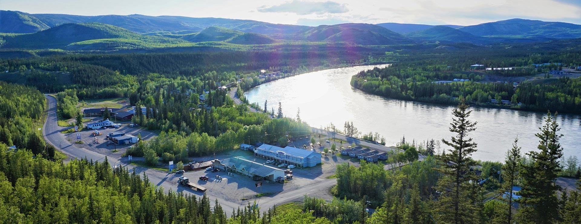 Carmacks Overview Photo, Yukon